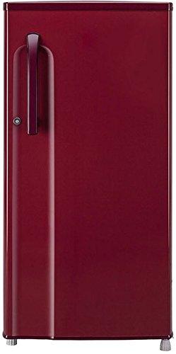 LG 188 L 2 Star   2019   Direct Cool Single Door Refrigerator GL B191KRLV, Ruby Luster