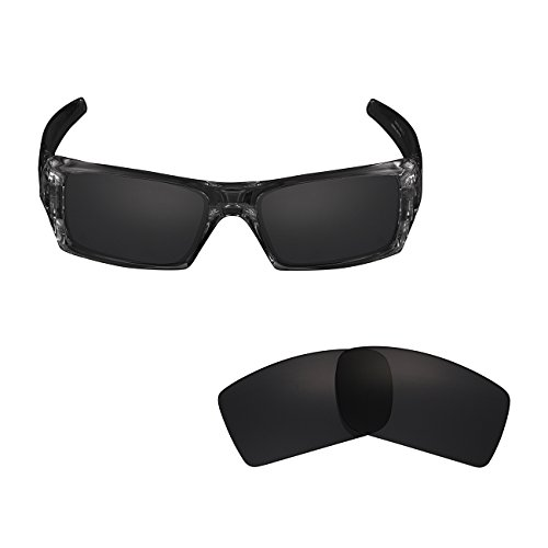 - Polarized Replacement Sunglasses Lenses for Oakley Gascan Asian Fit UV Protection Black 01