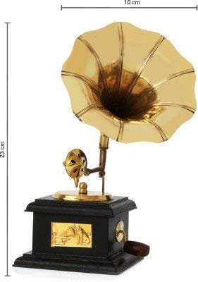 Vcare Antique Showpieces For Home Decorce Centre Table Decorative Items Vintage Dummy Handmade Gramophone 9x5x5 Inches Amazon In Home Kitchen