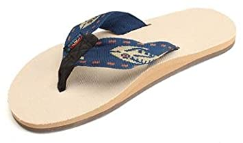 471c87042 Rainbow Sandals Mens Hemp Eco-Sandals - Natural Gold Fish Navy Strap ...