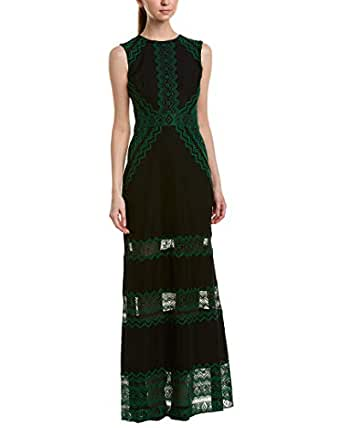 Tadashi Shoji Womens Gown, 16, Green
