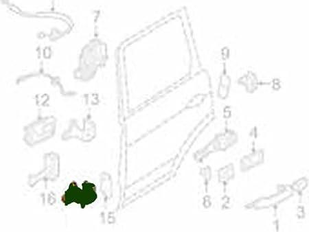 Amazon Com Genuine Land Rover Front Or Rear Door Hinge Lower Range