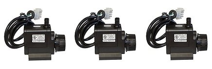 Portacool PUMP-CYC-3 Cyclone Replacement Pump, Fits 2000 and 3000 Evaporative Coolers, Model (3-(Pack))
