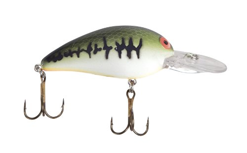 Bomber Model A Fishing Lure (Baby Spotted-Bass Orange Belly, 2 - Oz Bass Baby 3/8
