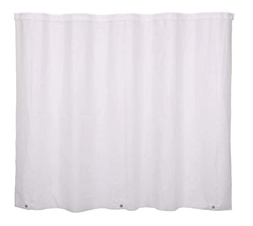 RiverDream Snap in PEVA Shower Curtain Liner Replacement - 70