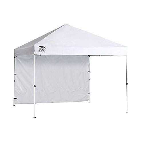 Quik Shade Commercial 10 x 10 ft. Straight Leg Canopy, White ()