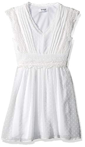 Speechless Girls' Big Sweet Easy Dress, Ivory 16 ()