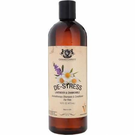 De-stress Lavender & Chamomile Aromatherapy Shampoo & Conditioner For Pets,...