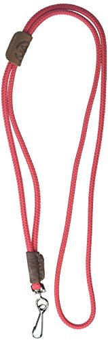 Mendota Pet Single Lanyard Whistle, 1/8 by 25-Inch, Red -