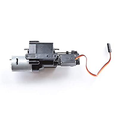 MaxMetal WPL Upgraded 2 Speed Gearbox with Shift Servo Spare Part fo WPL B14 B16 B24 B36 C14 C24 Remote Control Truck: Toys & Games