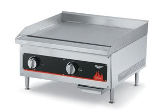Vollrath (40718) 12'' Gas Flat Top Griddle - Cayenne Series