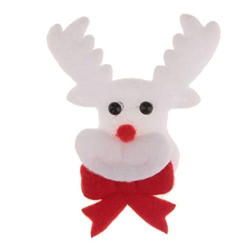 Lovely Christmas Theme Applique Patch Xmas Costume Embellishment DIY Craft Decor | Style - Deer -