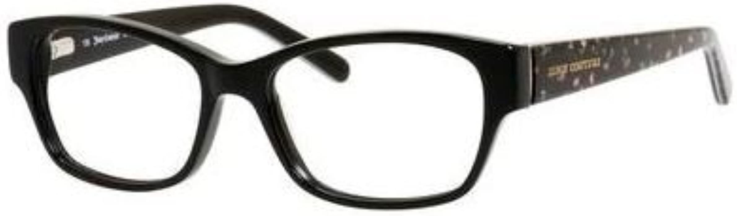 8c5766cb45f7 Juicy couture eyeglasses black floral jpg 2298x700 Juicy couture glasses  frames for women