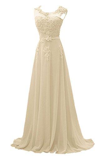 Promkleider Brautmutterkleider Braut Abendkleider festlichkleider mia Beige Lilac Elegant La Lang Abschlussballkleider cqR705Xcw