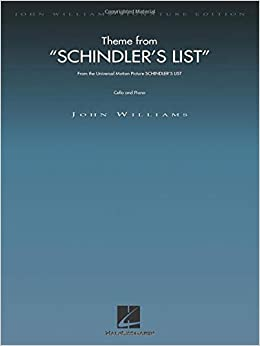 Theme from Schindler/'s List John Williams Cello and Piano Book Only