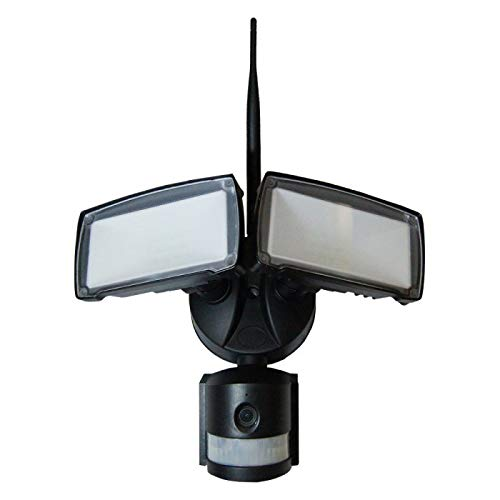 LED Foco Cámara - 18 W, WiFi, detector de movimiento, color blanco: Amazon.es: Iluminación