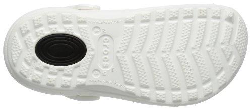Sandales Crocs White adulte Blanc mixte dTTr6