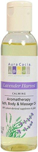 - Aura Cacia Aromatherapy Body Oil Lavender Harvest - 4 fl oz