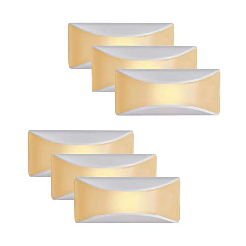 Mr. Beams MB500A-WHT-06-00 LED Dusk to Dawn Stair Night Light, One Size, White, 6 Each (Beam Seating)