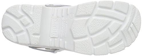 Sanita San-Duty Open-ob, Zuecos Unisex Adulto White (White 1)