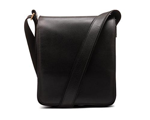 Portrait Large Messenger Bag Black SageBrown H4xUqSw