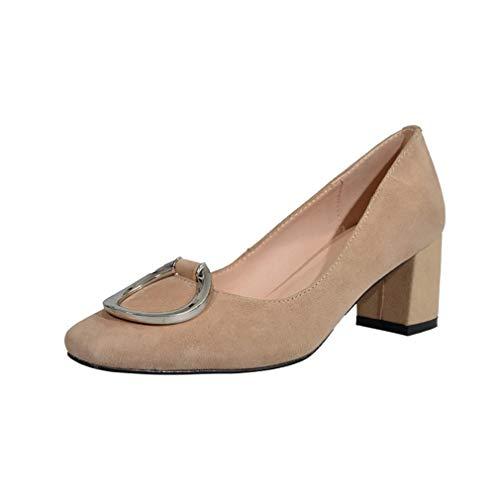 Femme toe 6cm Square Sur Chaussures Vadxst Escarpins Gris Glisser Arraysa ZdwqtxPCZ