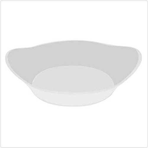 Emi Yoshi Relish Dish - 200 White 2 1/2 Inch Small Wonders Relish Dishes - Small Appetizer Dessert Plates Party Bowls