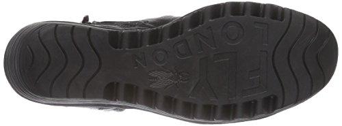 FLY LondonREGI - botas de caño bajo mujer negro - negro