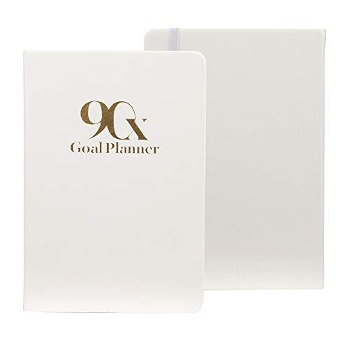 90X 90 Day Undated Goal Planner - Productivity Goals Daily Life Journal, Classic