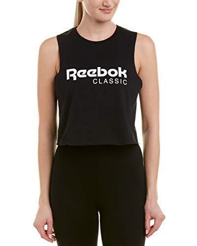 Reebok Women's Graphic Pack Crop Tank, Black, ()
