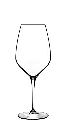Luigi Bormioli 08746/11 Prestige 15 oz Riesling White Wine Glasses (Set Of 4), Clear