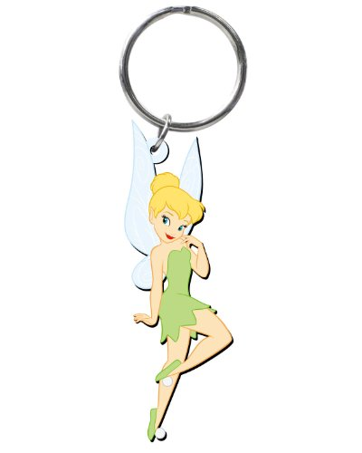 Disney Tinker Bell Soft Touch PVC Key Ring]()