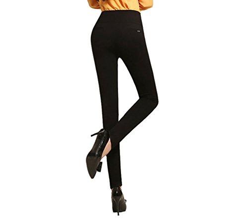 Jeggings Noir Femmes Pantalon Leggings Yilianda Collants De Slim Zxd6z6Tqw