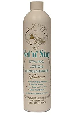 Fantasia Set 'n' Stay Hair Styling Lotion Concentrate 16 Oz