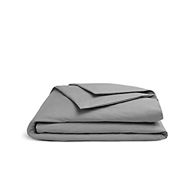 Brooklinen Luxe Sateen Duvet Cover - 480 Thread Ct, 100% Long Staple Cotton - Oeko-TEX Certified - Full/Queen