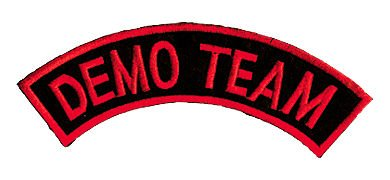 Tiger Claw Patch - Demo Team Dome