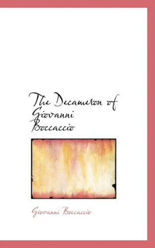 The Decameron of Giovanni Boccaccio (Bibliobazaar Reproduction) from Brand: BiblioLife