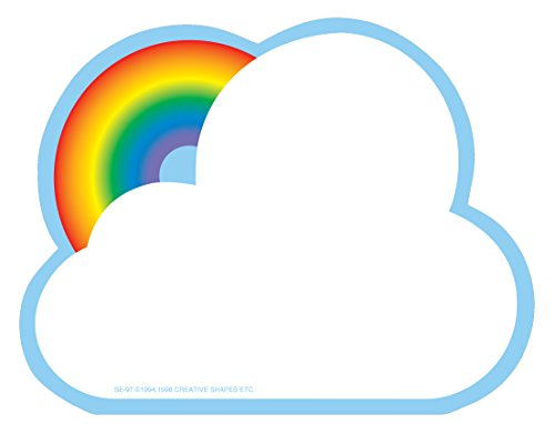 Rainbow Large Notepad -