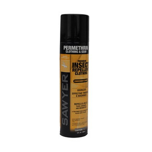 Sawyer Permethrin Clothing and Fabric Insect Repellent Aerosol Spray 9oz
