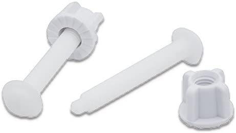 White Danco 80822 Toilet Seat Hinge Bolts 2 PACK