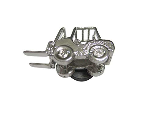 Kiola Designs Silver Toned Industrial Warehouse Forklift Magnet