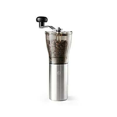 Bean+ My Hand Mill Coffee Bean Grinder with Ceramic Burr Blade and Easily Adjustable Grinding Degree Switch