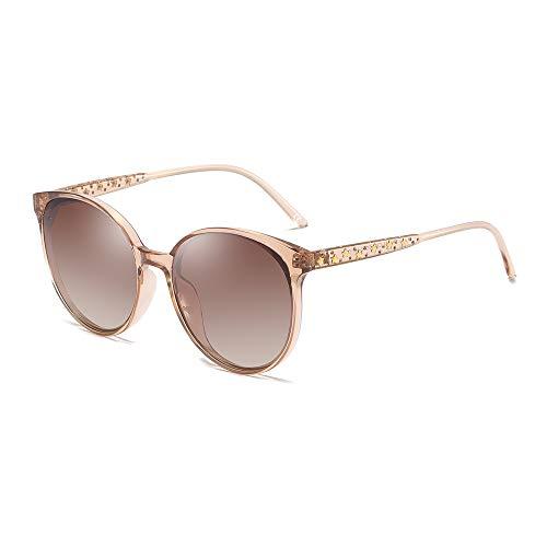 BLEVET Mode Groß Damen Sonnenbrille Polarisiert 100% UV