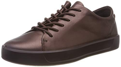 (ECCO Women's Low-Top Sneakers, Purple (Fig Metallic 51485), 8 us)