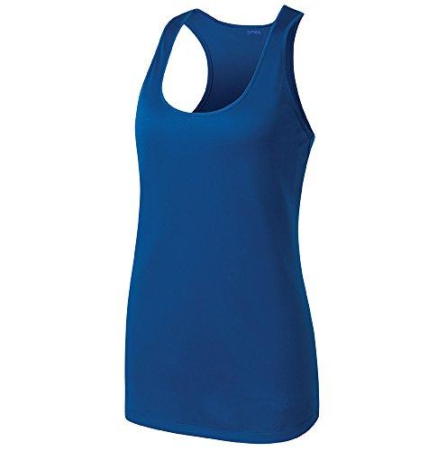 - Opna Racerback Tank Tops for Women Moisture Wicking Workout Shirt Sizes XS-4XL Royal-S