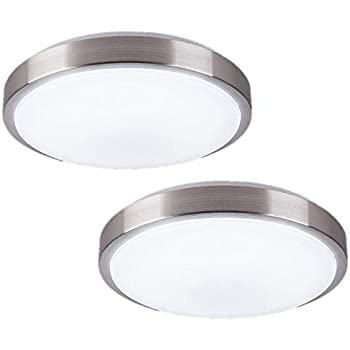 Laundry Room Light Fixture Brushed Nickel