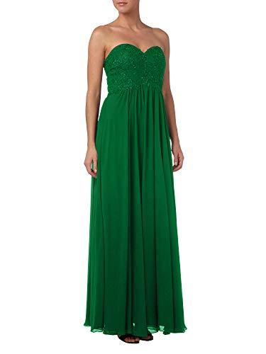 Brautmutterkleider Partykleider Spitze A Linie Marie Abendkleider Elegant Braut Gruen Rock La Jaeger Bodenlang YnwRpIqY