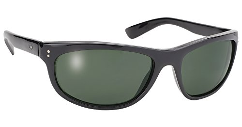 Dirty Harry Black Sunglasses with G-15 Grey Lens UV 400 - In Men Black Sunglasses