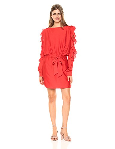 Neck Chiffon Women Dresses - 2