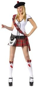Scottie Hottie Adult Costume - Small/Medium -